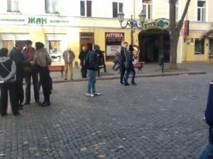 Street preaching, and evangelism.